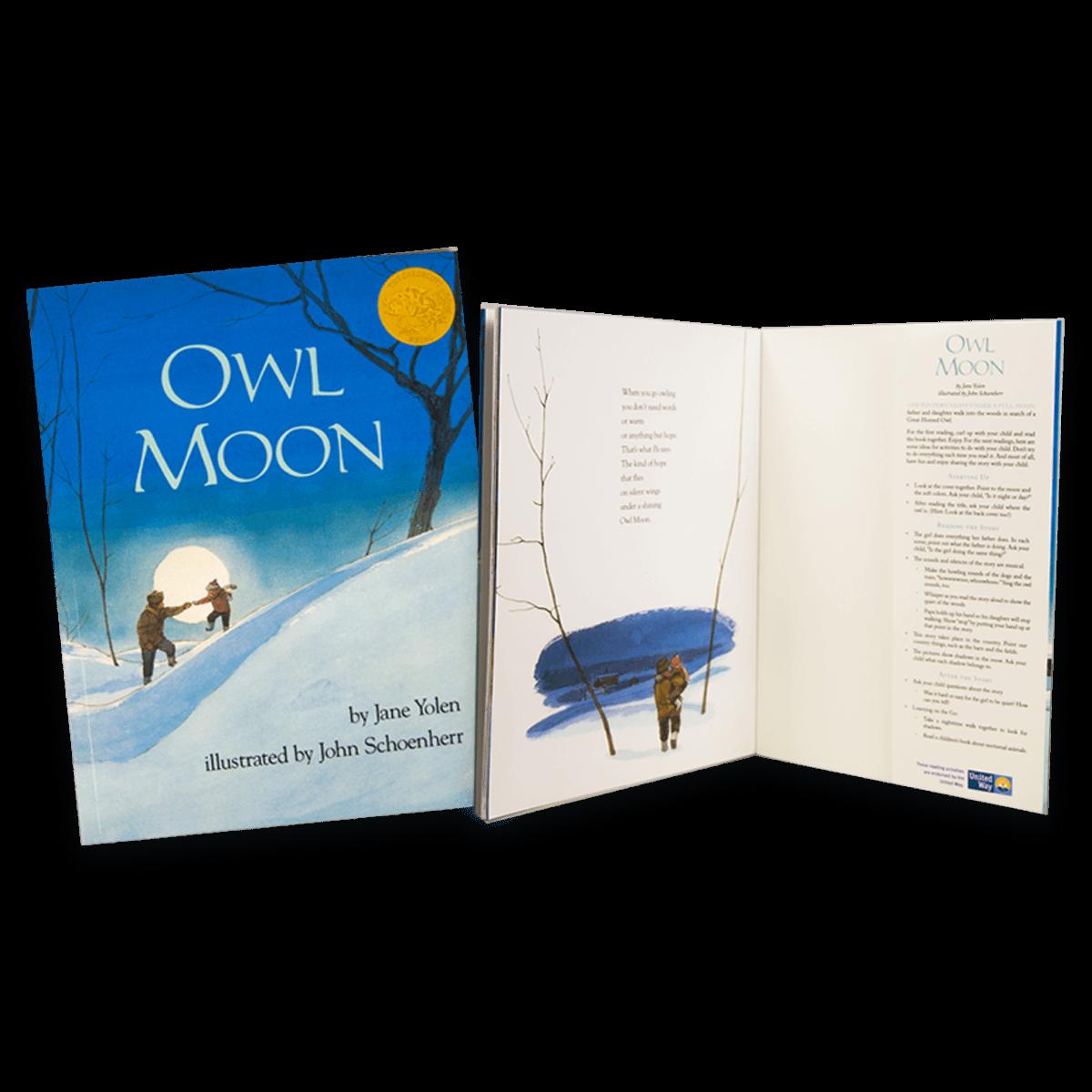 Dolly Parton's Imagination Library Book Owl Moon