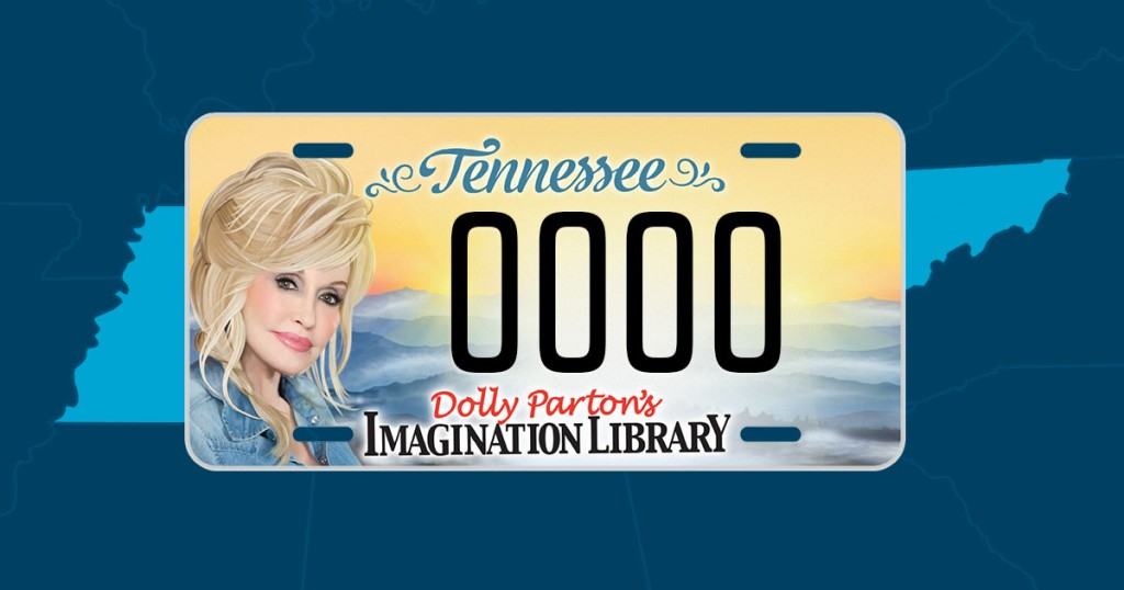 Dolly Parton Tennessee License Plates