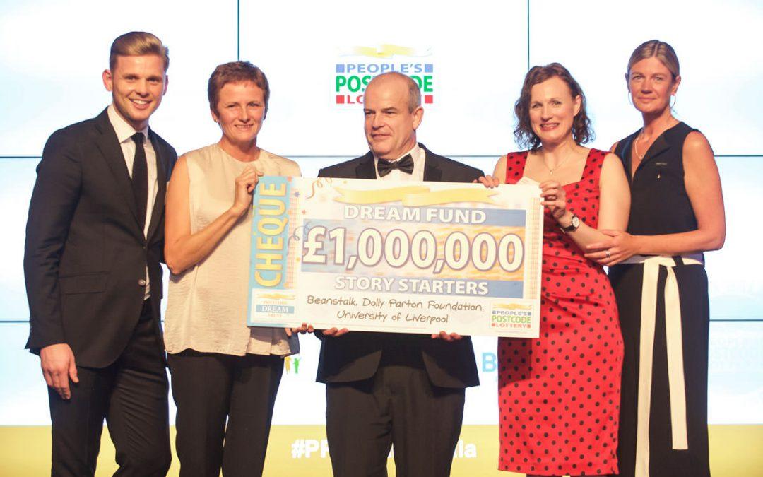 £1 Million Dream Fund Award To Imagination Library – UK