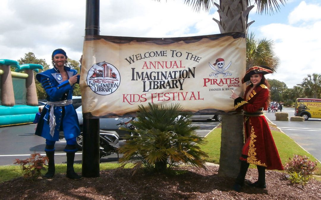 13th Annual Imagination Library Kid's Festival At Pirates Voyage