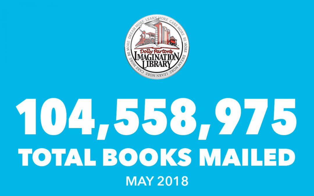 Dolly Parton's Imagination Library May Book Totals 2018