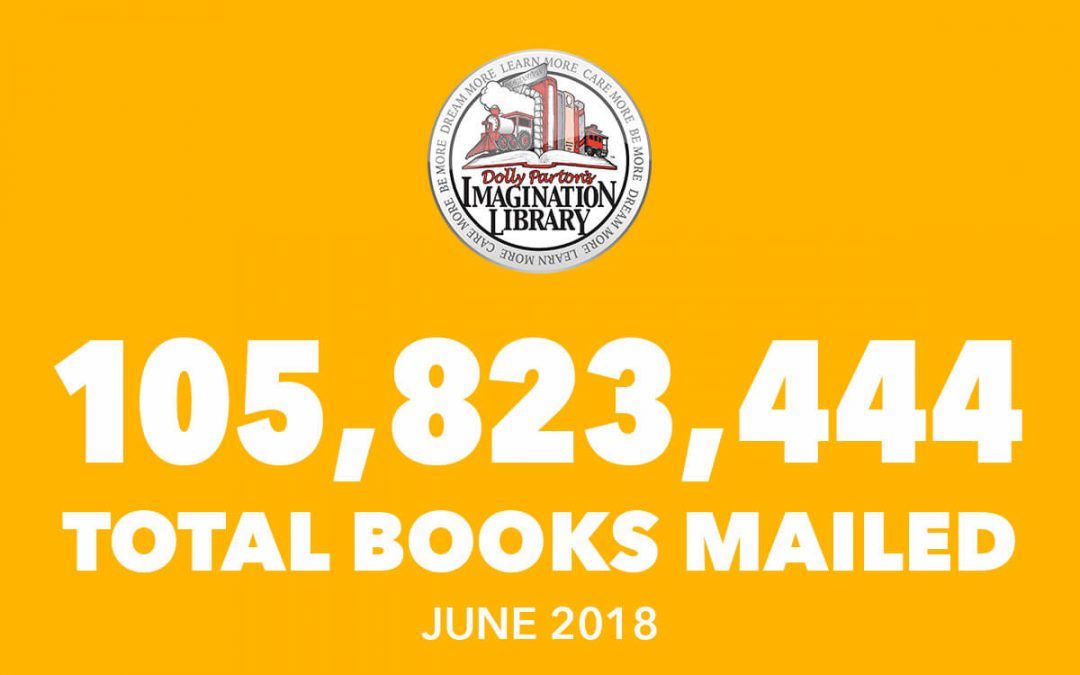 Dolly Parton's Imagination Library June Book Totals 2018