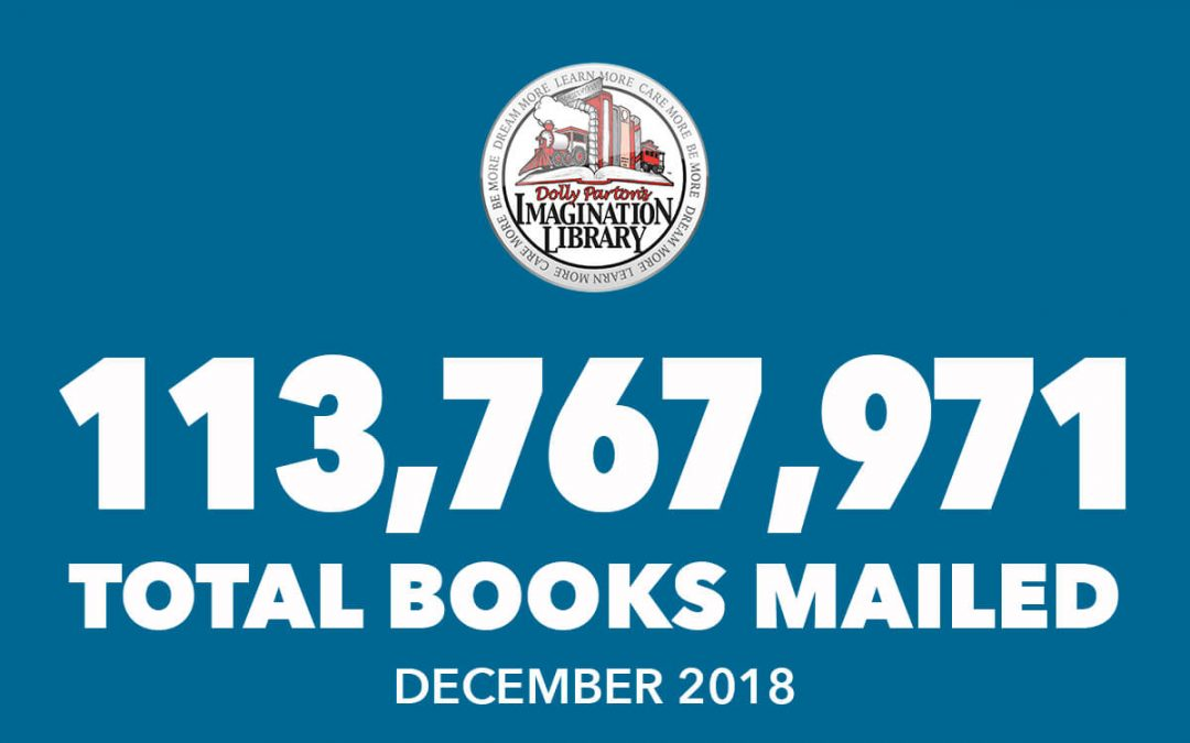 Over 113 Million Free Books Mailed As Of December 2018