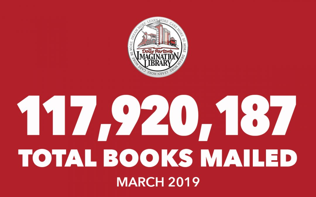 March 2019 Total Books Mailed