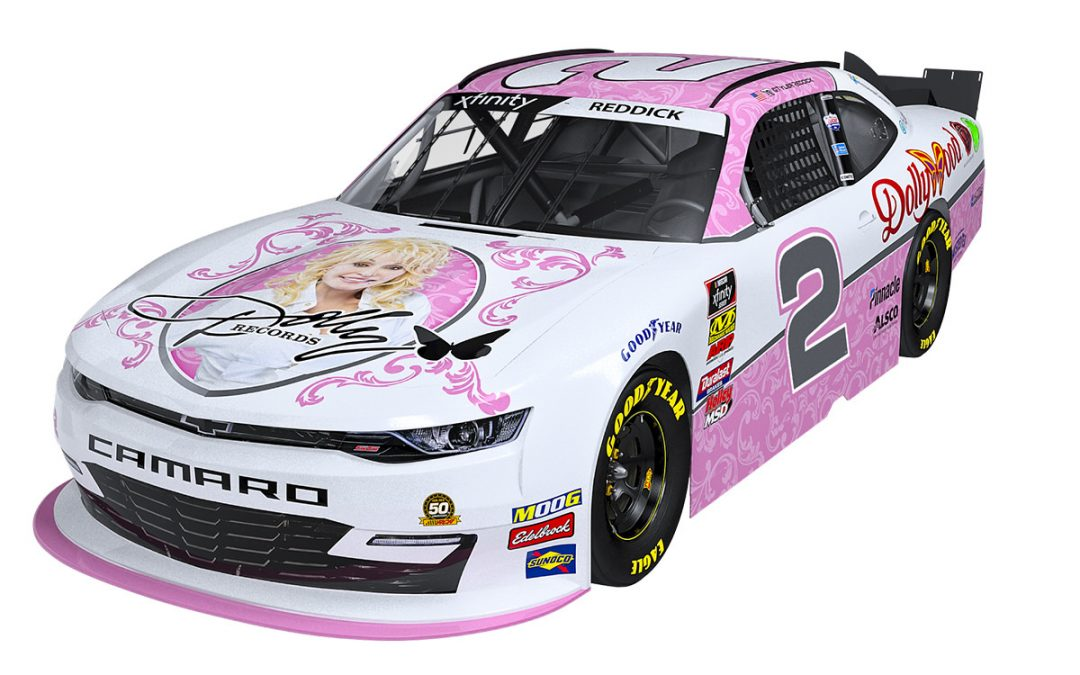 Imagination Library Featured On Dolly Parton's NASCAR Xfinity Series Team Race Car