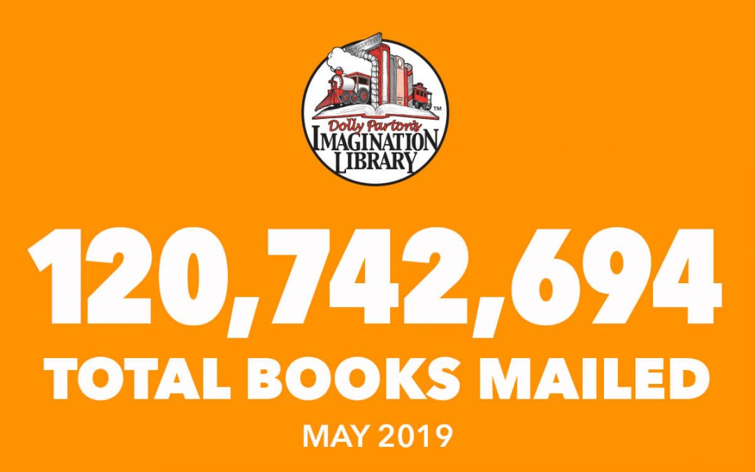 Over 120 Million Free Books Mailed As Of May 2019