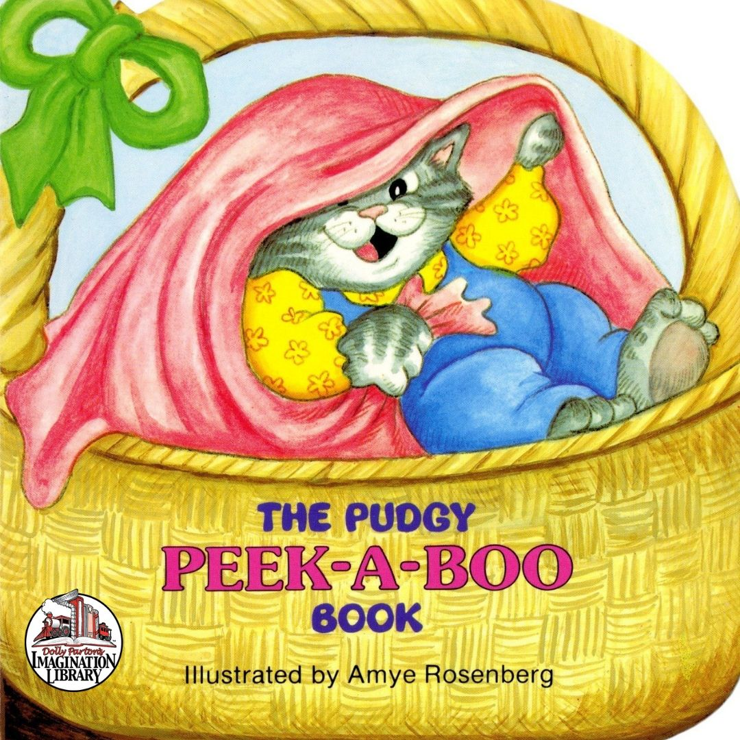 The Pudgy Peek a Boo Book - Dolly Parton's Imagination Library
