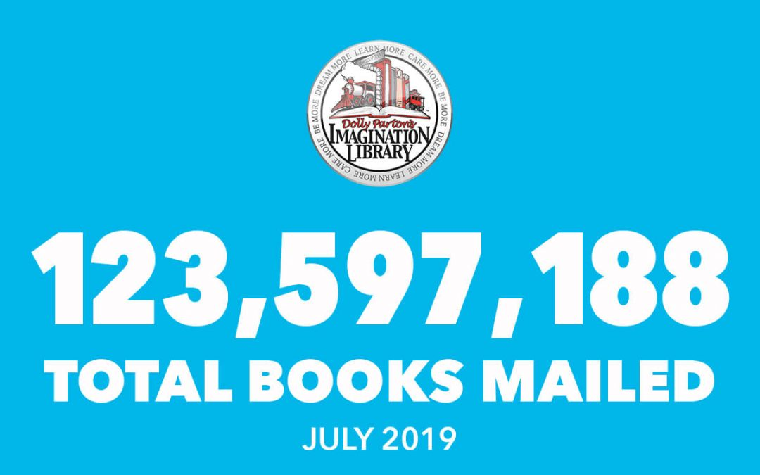 Over 123 Million Free Books Mailed As Of July 2019
