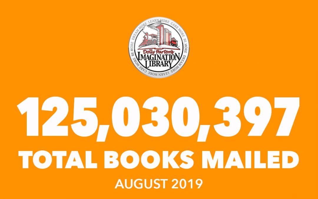 Over 125 Million Free Books Mailed As Of August 2019