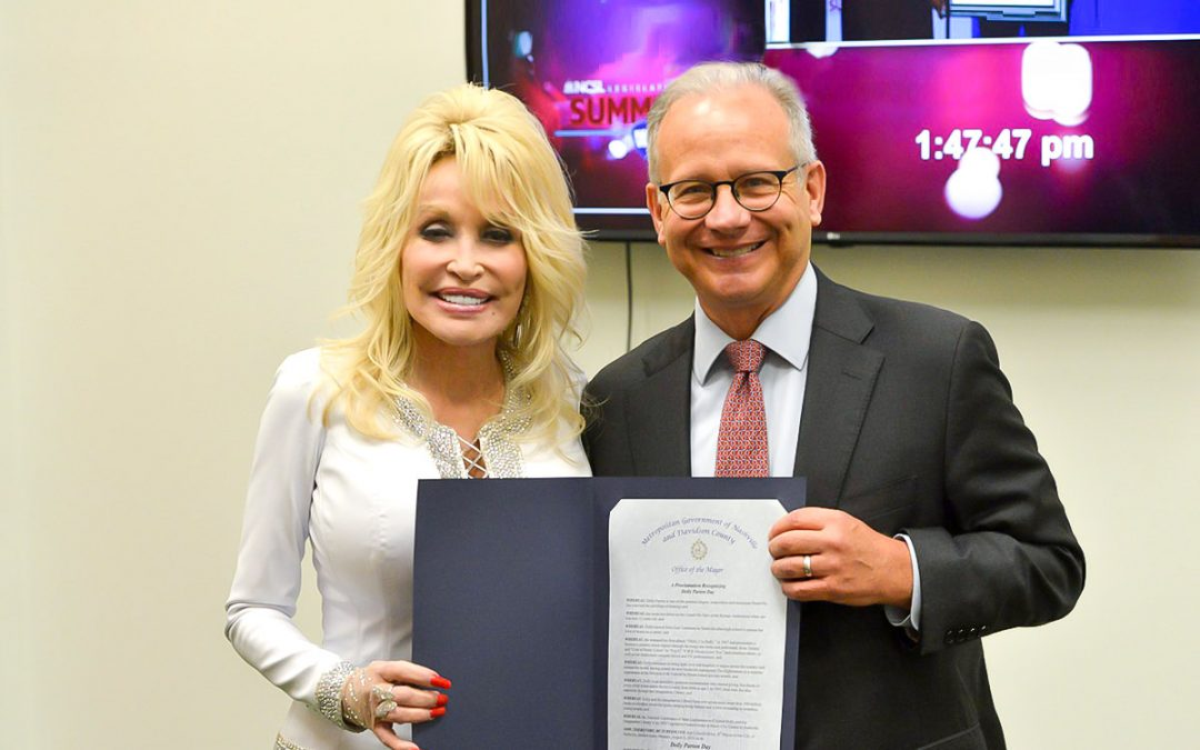 August 5 Declared Dolly Parton Day In Nashville, TN