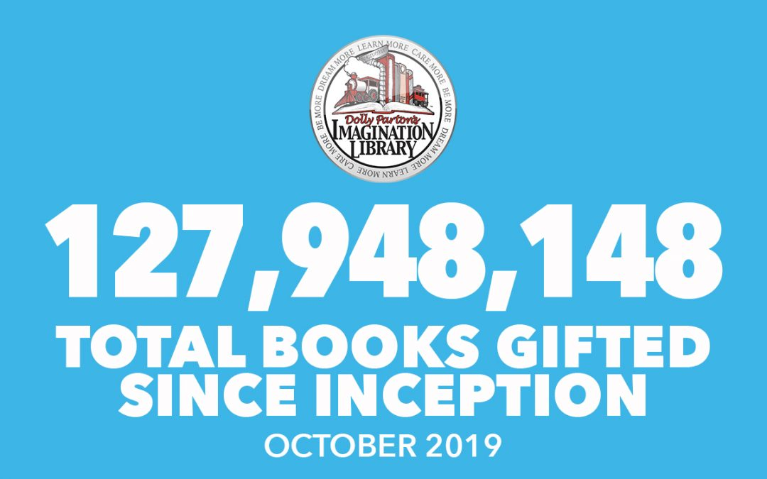 Over 127 Million Free Books Gifted As Of October 2019