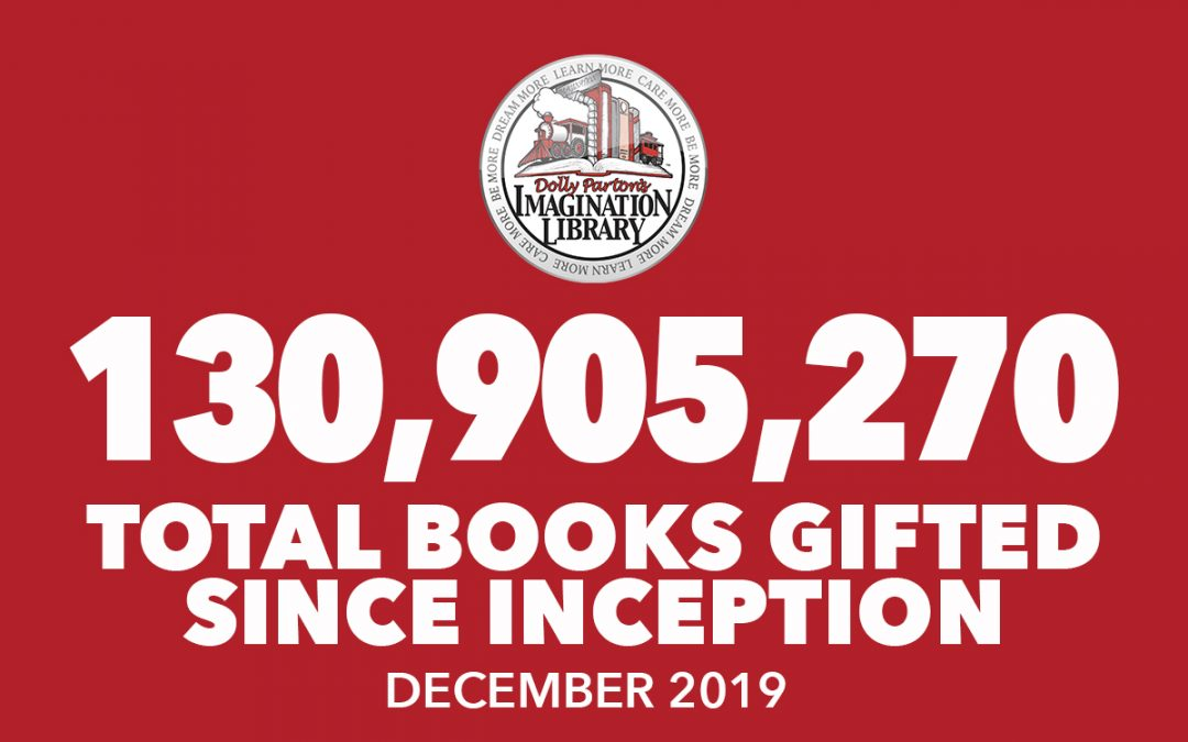 Over 130 Million Free Books Gifted As Of December 2019