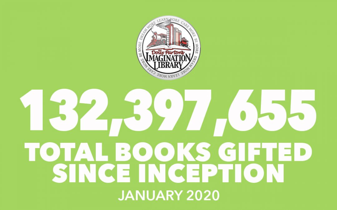 Over 132 Million Free Books Gifted As Of January 2020