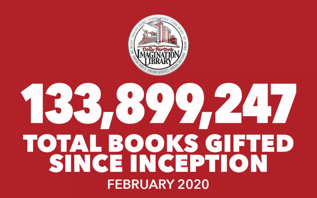 Over 133 Million Free Books Gifted As Of February 2020