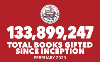 February 2020 Total Books Gifted - Dolly Parton's Imagination Library