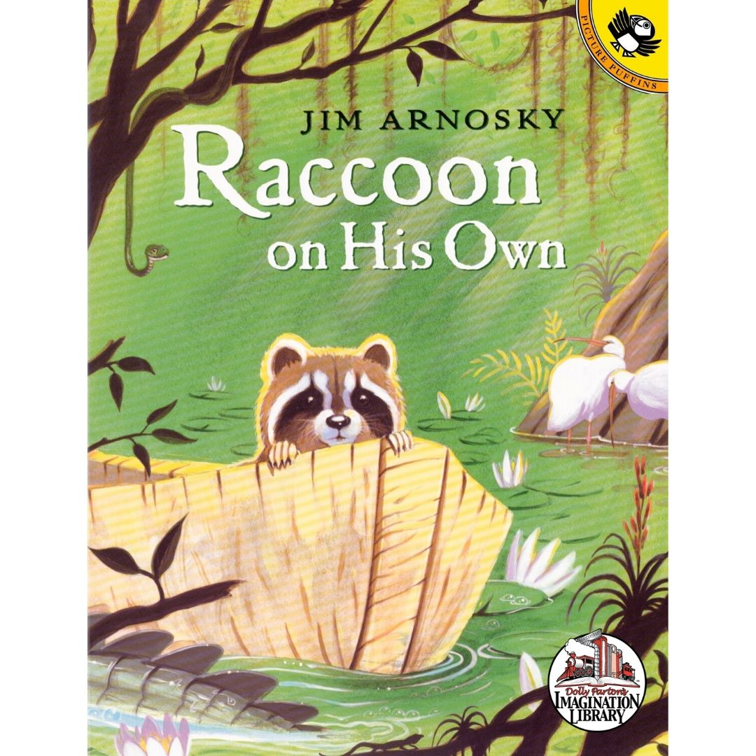 Raccoon On His Own - Dolly Parton's Imagination Library