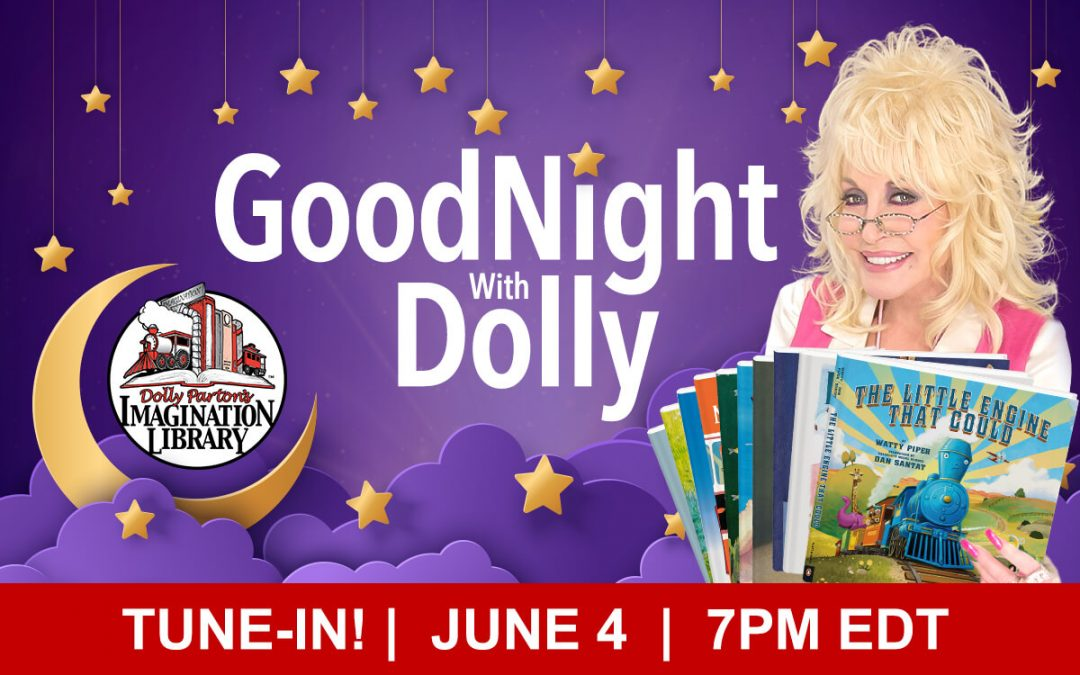 """Goodnight With Dolly"" Special Finale & 10-Set Book Giveaway"