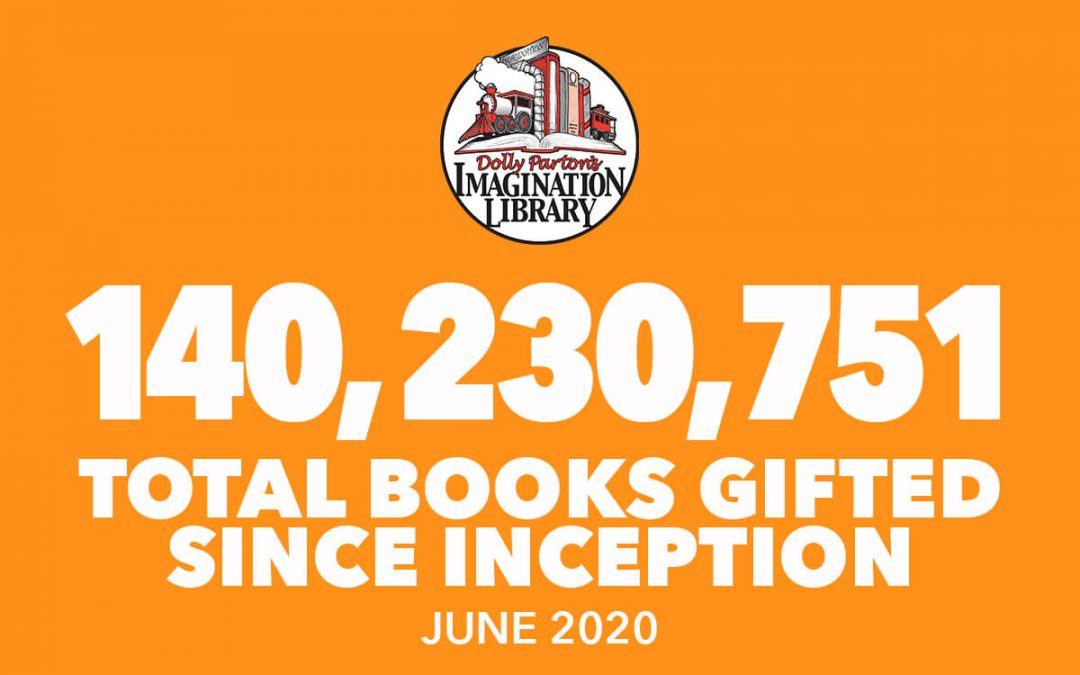 Over 140 Million Free Books Gifted As Of June 2020