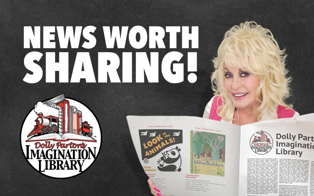 Dolly Parton's Imagination Library Sets New Enrollment Records