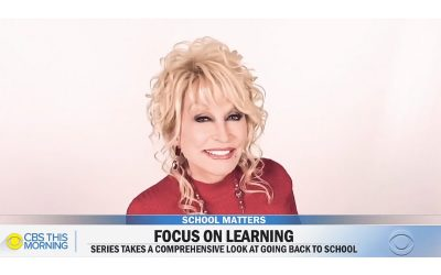 Dolly Parton on CBS This Morning - School Matters