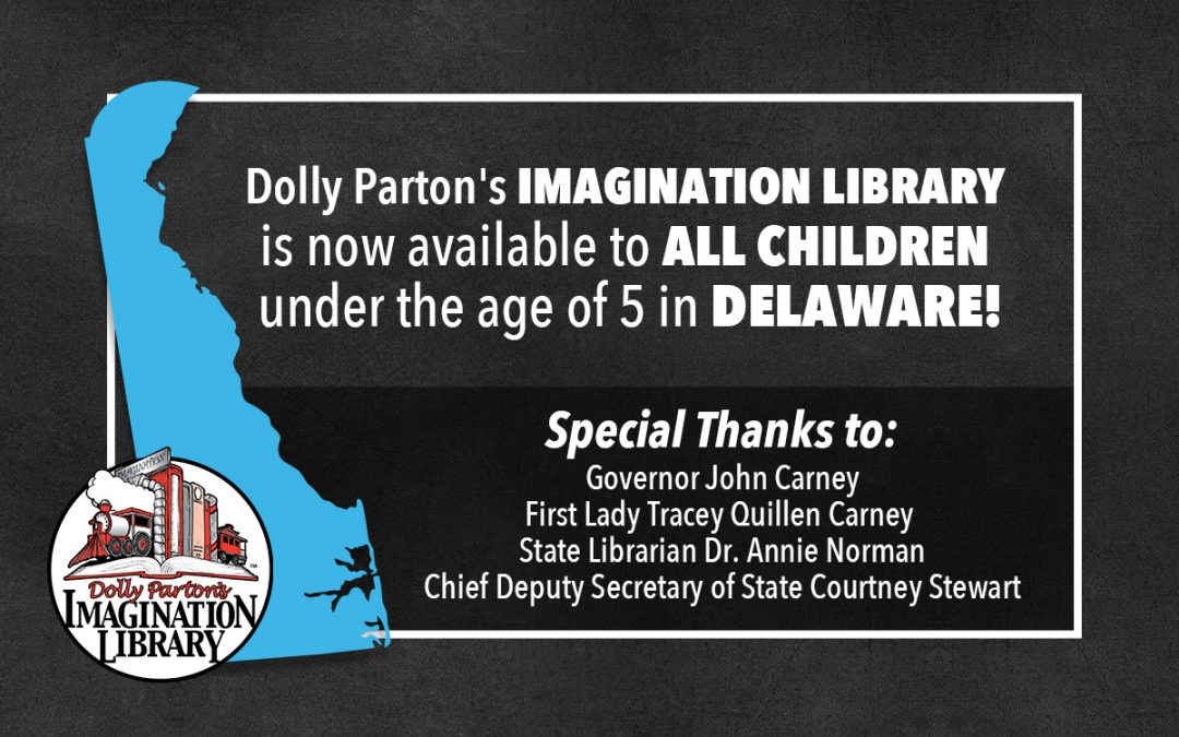 Imagination Library Now Available Statewide in Delaware