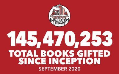 September 2020 Total Books - Dolly Parton's Imagination Library